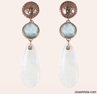 Cocktail Earrings By Jewelry Designer Monica Vinader