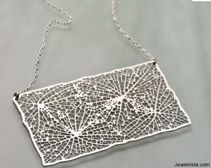 Rectangular Stainless Steel Pendant