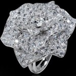 Magic Gardens of Piaget Rose Motif Diamond Ring