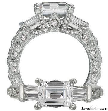 Romantique Diamond Engagement Ring By Jewelry Designer Ritani