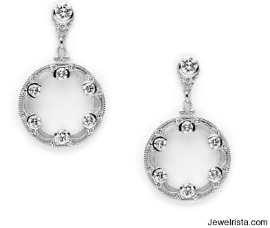 Diamonds on the Moon Collection Earrings By Jewelry Designer Tacori