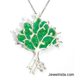 Adina Plastelina Tree of Life Pendant