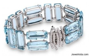 Topaz and Diamond Candy Bracelet by Brumani