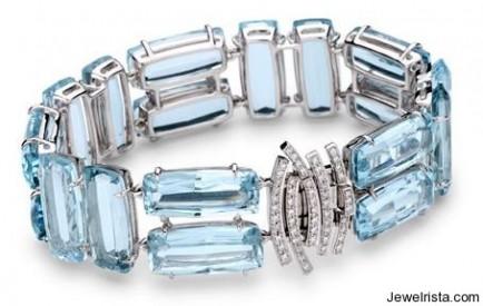 Topaz and Diamond Candy Bracelet by Brumani
