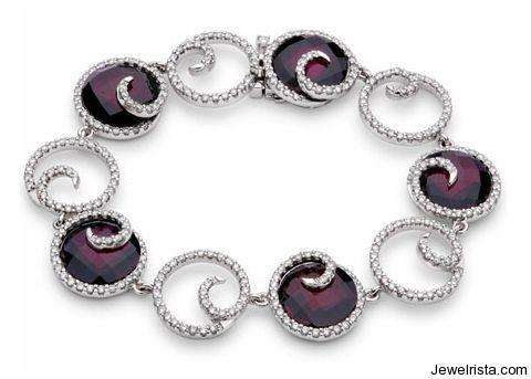 18kt White Gold and Diamond Bracelet by Jewelry Designer Brumani