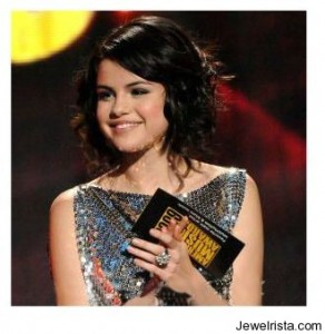 Hollywood Star Selena Gomez Wearing a Carla Amorim Ring