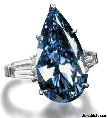 The Blue Magic Diamond Ring