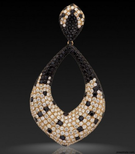 Gold and Diamond Earrings From The Odette Collecti