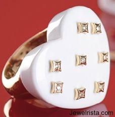 Diamond Heart Ring by Jewelry Designer Gioielliamo