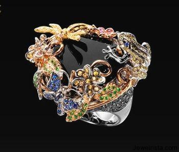 Giardino Ring by Jewelry Designer Grimoldi Milano
