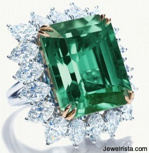 Emerald Ring (May's Birthstone) by Harry Winston