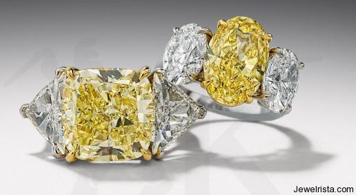 Diamond Rings by Jewelry Designer Hans D. Krieger