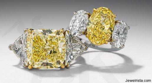 Diamond Rings by Jewelry Designer Hans D. Krieger