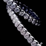 Rolling Diamonds Bracelet by Heinz Mayer