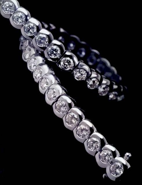 Diamond Bracelets by Jewelry Designer Heinz Mayer
