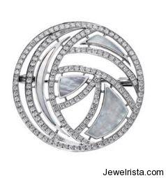 Moon Brooch by Jewelry Designer Laiseca & Ferragut