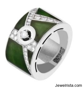 Jade Ring Mosaic - Green Soda Collection