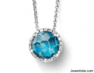 Diamond and Gem Necklace by Nanis