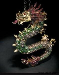 Dragon Pendant by Paolo Piovan
