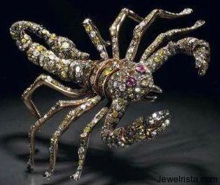 Scorpion Pendant by Jewelry Designer Paolo Piovan Gioielli