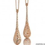 Rose Gold and Diamond Necklaces by Jewelry Designer Roberto Coin