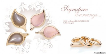 Rose Gold Earrings By Tamara Comolli