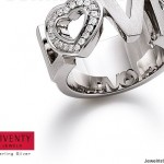 Sterling Silver Love Ring by Jewelry Designer Viventy
