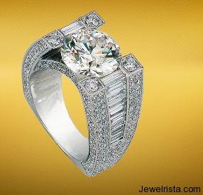 Bridal Ring by Jewelry Designer YESSAYAN