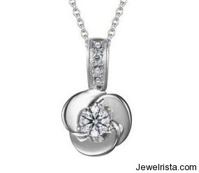 Diamond Pendant by Jewelry Designer Zela