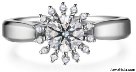 Diamond Ring by Jewelry Designer Zela