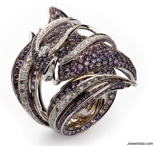 Diamond Ring by Jewelry Designer Cantamessa