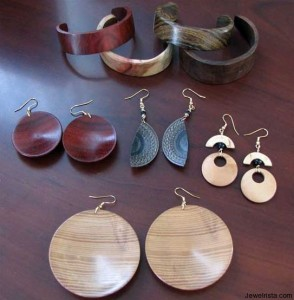 Eco-Friendly Earth and Environment Based Wood Jewelry