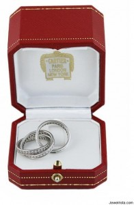 Cartier Ring In Protective Jewelry Box
