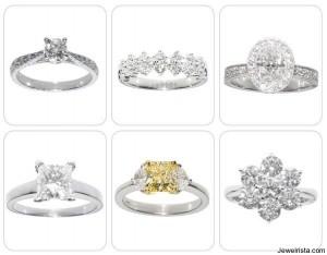 Gold and Diamond Wedding Ring Styles