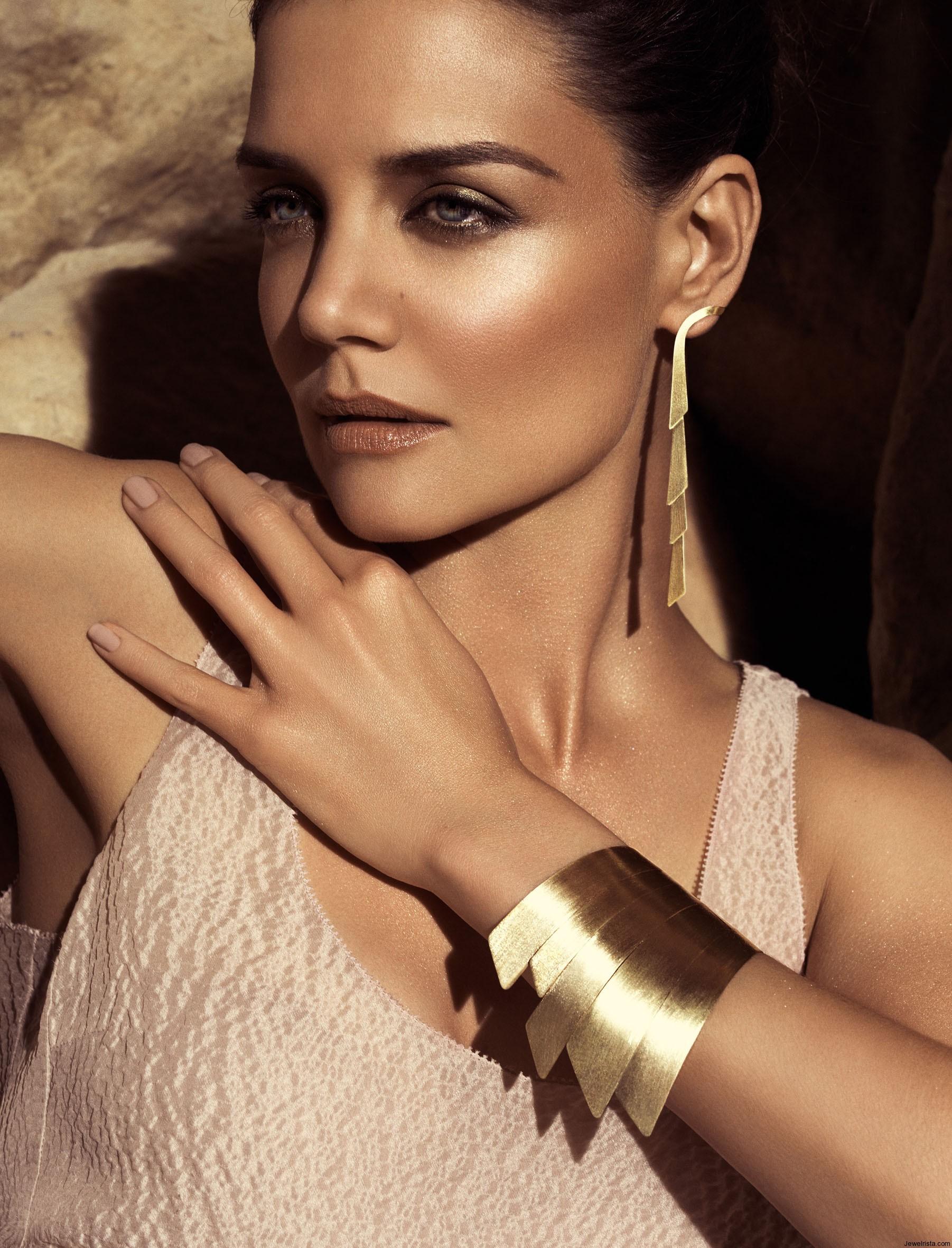 Katie Holmes As Jewelry Model Joseph Schubach Jewelers