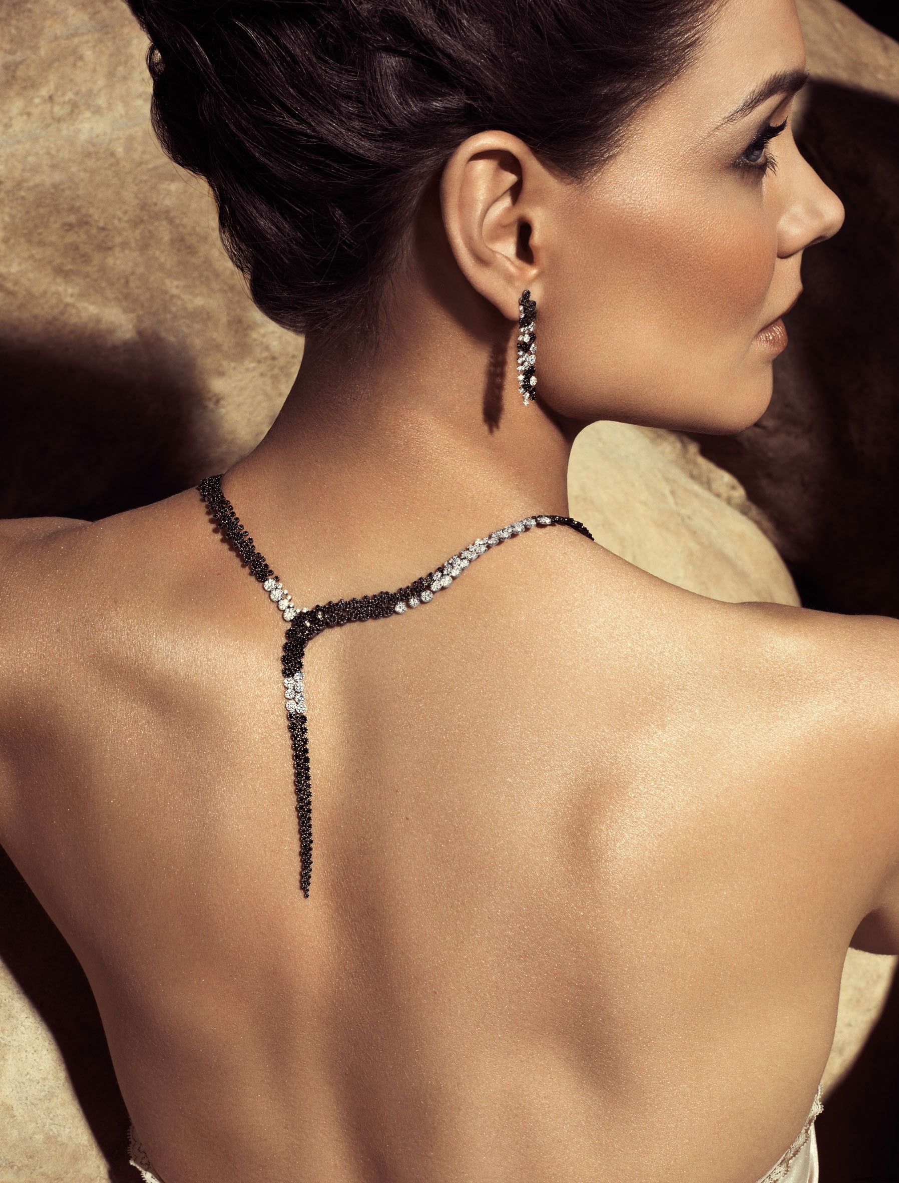Katie Holmes Models Designer Jewelry for H. Stern