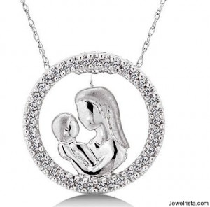 Mother's Day Jewelry Gift Diamond Charm