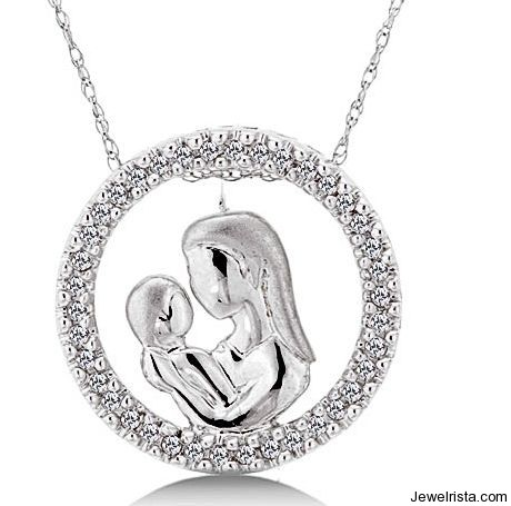 Mother S Day Jewelry Gift Diamond Charm