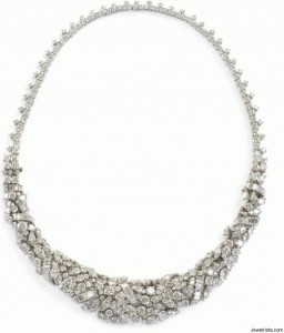 Vintage Antique Diamond Necklace