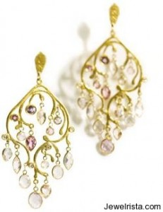 22 Karat Gold Earrings By Anat Gelbard