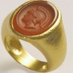 22 Karat Gold Rings By Anat Gelbard