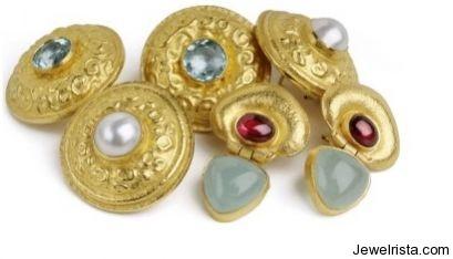 Earrings by Jewelry Designer Osnat Weingarten