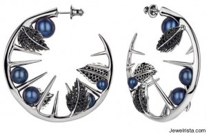 Black Horn Collection Earrings By Shaun Leane