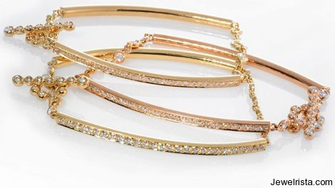 Bracelets by Jewelry Designer Erica Courtney