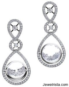 Diamond Earrings by Jewelry Designer Reena Ahluwalia