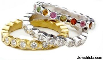 Diamond, Gold, Gem Rings By Osnat Weingarten