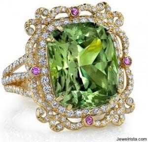 Diamond Ring By Erica Courtney