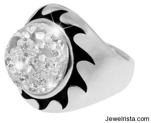 Diamond Ring by Jewelry Designer Reena Ahluwalia