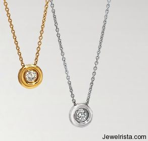 Diamond and Gold Necklaces By Chaumet