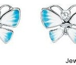 Diorette Butterfly Earrings